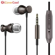 Magnetic Bass Stereo Earphone Untuk Xiaomi Redmi Catatan 5A 34 4X3 Pro 3 S 4 4A 4x5 Ditambah Headphone Headset Kabel Kontrol Dengan MIC(China)