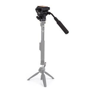 Image 5 - YUNTENG YT 950 950 360 Graden Hydraulische Druk Fluïdumtrek Statiefkop Voor DSLR DV Video Camera Schieten Filmen Slider Rail