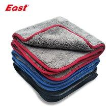 East Super chłonny ścierki do czyszczenia dwuwarstwowe sprzątanie domu pielęgnacja samochodu dwustronne koralowe aksamitne ręczniki ręcznik do mycia