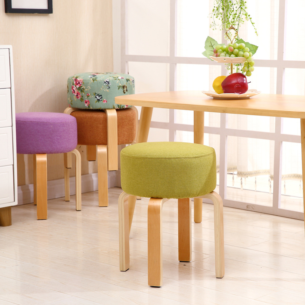 Stool Fashion Creative Small Bench Solid Wood Small Chair