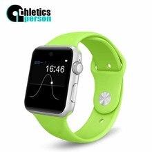 Leichtathletik person smartwatch hd screen unterstützung sim karte bluetooth geräte smart watch magie knopf für apple android telefon pk dz09
