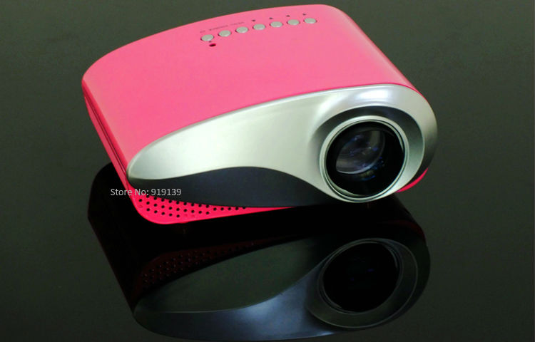 mini projector red pic 1