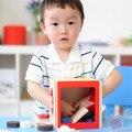 Japão Ed. Entre Cubo Triagem Forma De Blocos De Madeira Brinquedo Intelectual Clássico brinquedo De Madeira Educacional Geometria Caixa de Presente