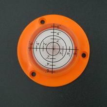HACCURY 50*17 мм Bullseye пузырьковый уровень спиртовой уровень Круглый круглый уровень пузырьковый с монтажными отверстиями