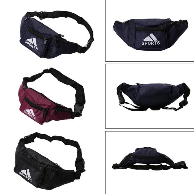 THINKTHENDO Waterproof Bum Waist Bag Pouch Wallet Pack Waterproof Canvas Travel Men's Money Belt Adjustable Strap