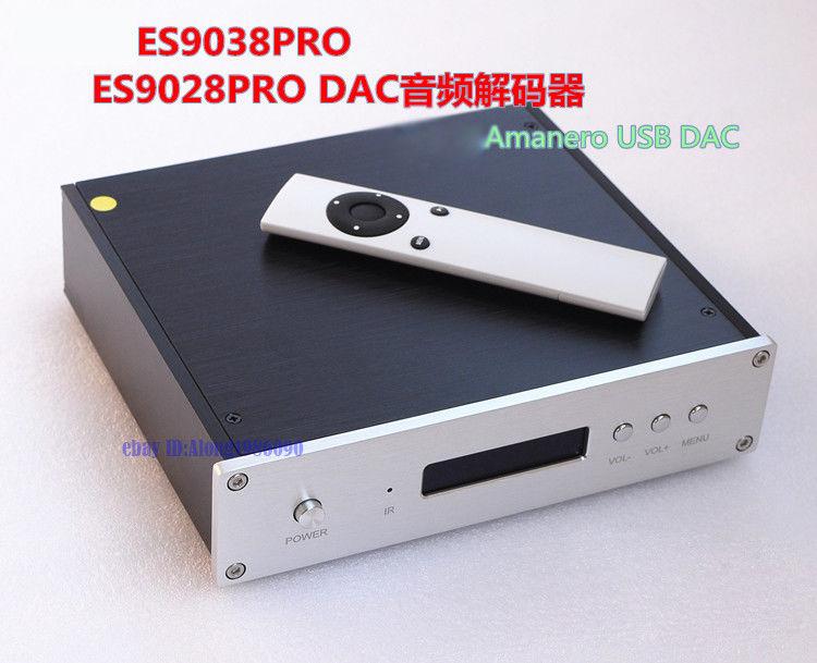 Fernbedienung Amanero Usb Karte Fertigen Es9038pro Dac Dsd/xlr Ausgang