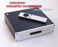 Finished ES9038PRO DAC DSD / XLR Output + Remote + Amanero USB Card