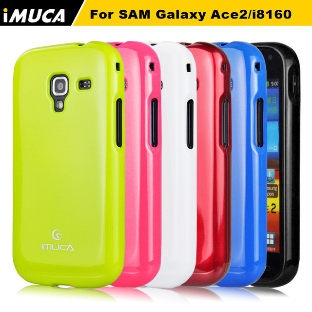 iMUCA Brand phone case coveer for samsung galaxy ace 2 case soft tpu cover for Samsung Galaxy Ace 2 gt-i8160 i8160 luxury capa