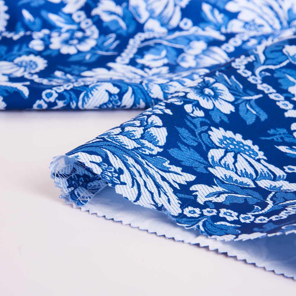 PYJTRL Brand New męskie Vintage niebieski kwiatowy nadruk Slim Fit garnitury ze spodniami Plus rozmiar 5XL Veste Homme Mariage Groom garnitur weselny