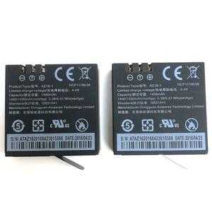 Image 4 - Original Für Xiaomi YI 4K Batterie AZ16 1 USB LCD Dual Ladegerät Action Kamera 2 4k + Lite Zubehör 1400mAh Akku