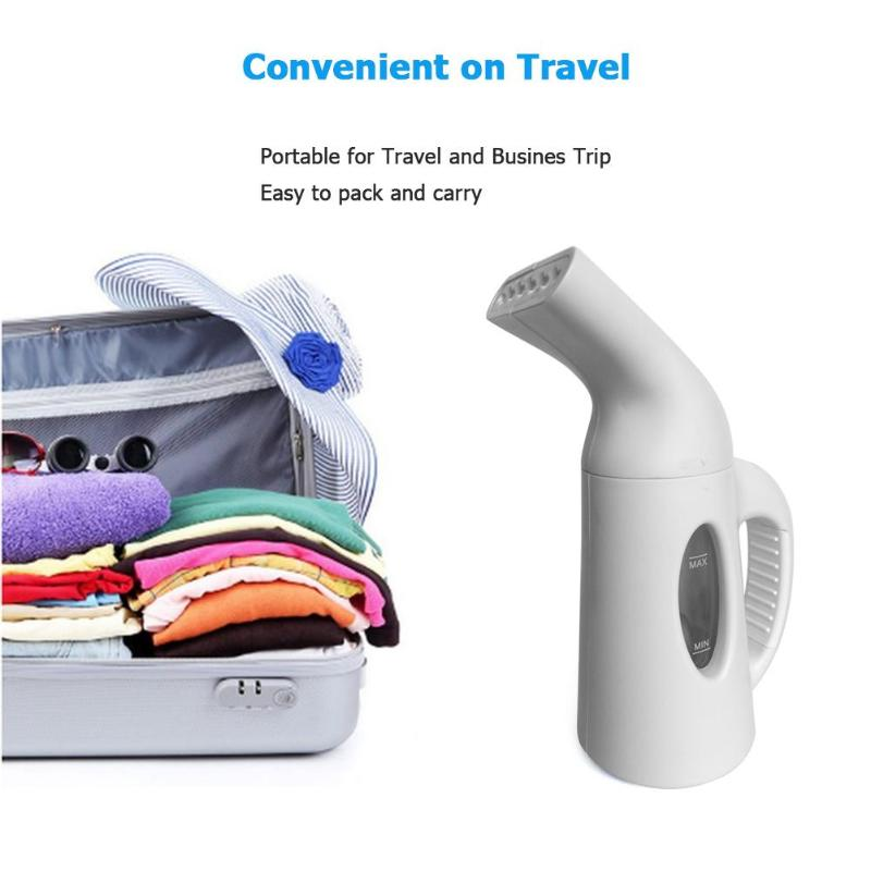 120mL Mini Handheld Clothes Steamer Irondry Cleaning Brush Clothes Household Appliance Portable Travel Garment Steamers