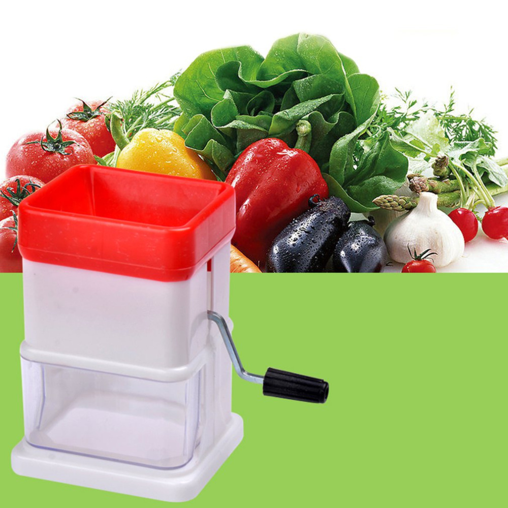 2018 NEW Manual Food Chopper Household Vegetable Chopper Shredder Multifunction Food Processor Crusher Blender2018 NEW Manual Food Chopper Household Vegetable Chopper Shredder Multifunction Food Processor Crusher Blender