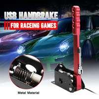 16bit Hall Sensor USB Handbrake and Clamp PC Windows for Sim Racing Game for Logitech G25 G27 G29 T500 T300