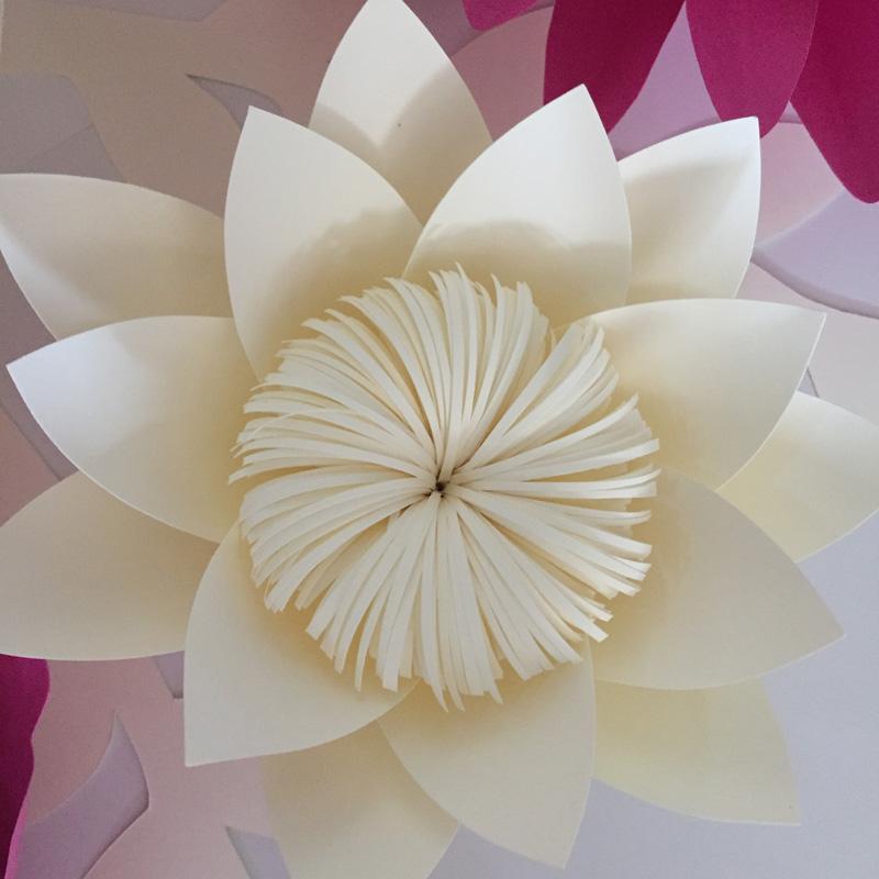 Flores Dollar artificiais parágrafo 3