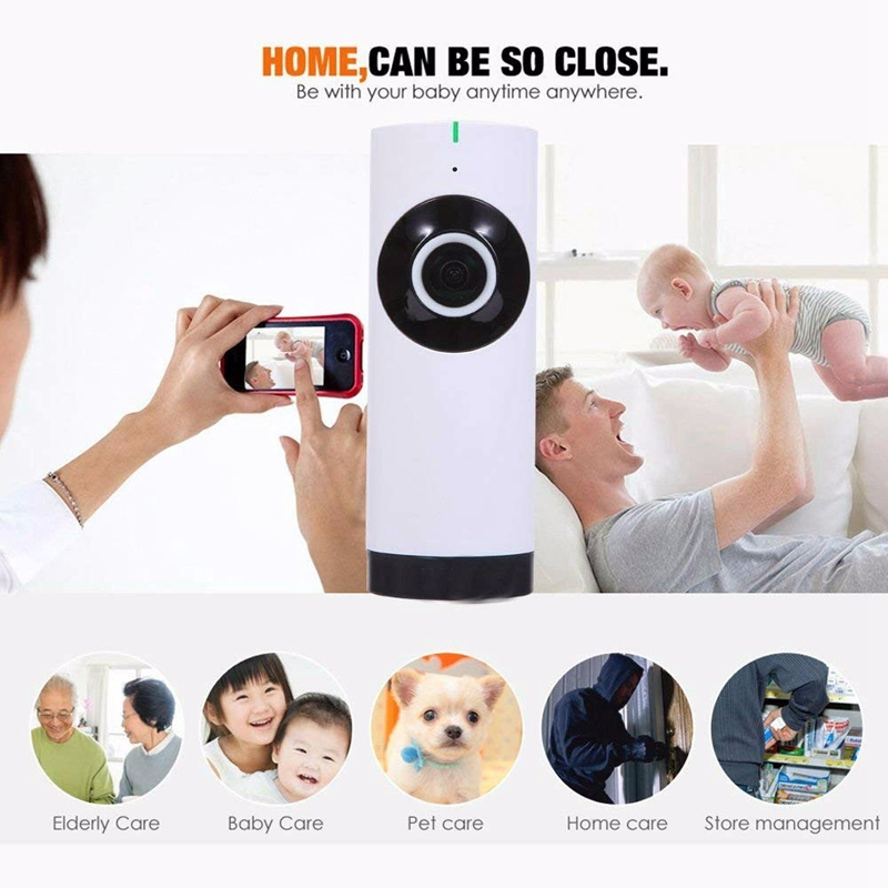 Big SaleÓSmart-Camera Wifi Outdoor Security Wireless Full-Hd 720P 180-Wide-View Angle