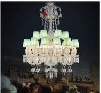 Frete Grátis Moderno Claro Lustre Sala Luzes Lâmpadas Vela K9 Candelabro de Cristal de luxo Europeu AC 100% Garantido crystal chandelier lighting chandelier lighting white chandelier -