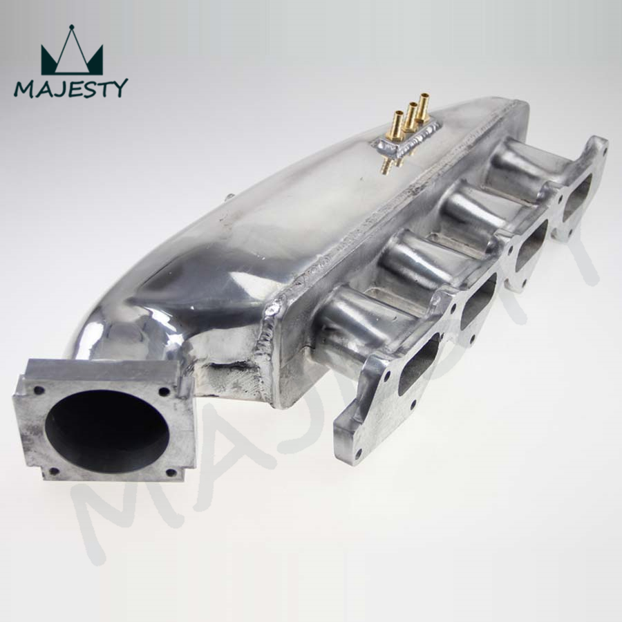Aluminum INTAKE MANIFOLD Plenum FOR Lancer Evolution CE9A EVO 1 2 3 4G63 1992-1995