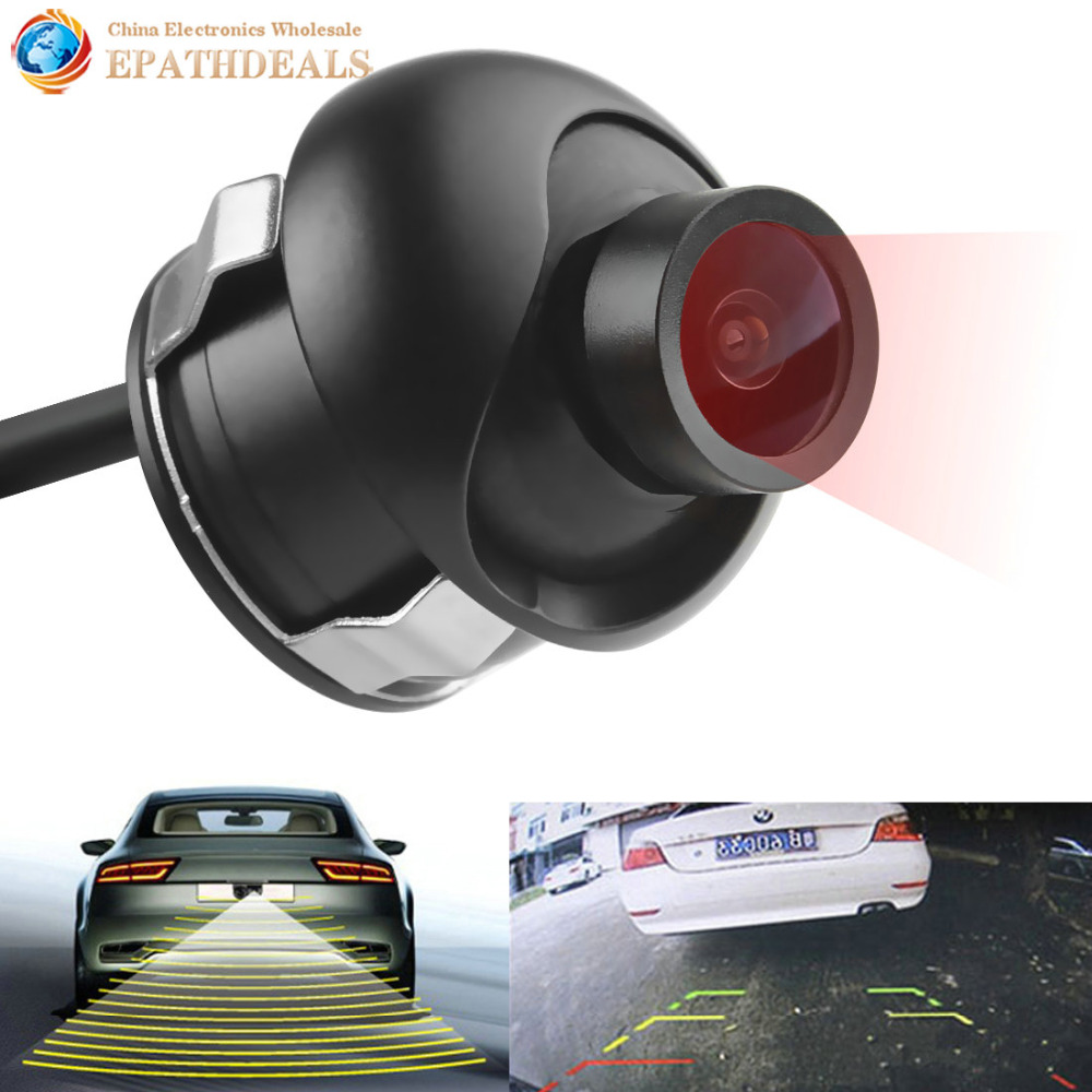 E319 High Quality Night Vision Car Rear view Camera Auto Vehicle Reverse Backup Rearview Camera 170 Degrees for Security Parking car rear view camera reverse rearview camera for toyota prado land cruiser 120 170 degrees