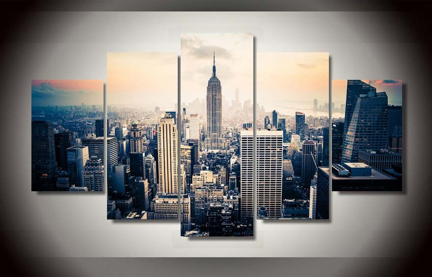 New York City Canvas Wall Art popular city art posters-buy cheap city art posters lots from