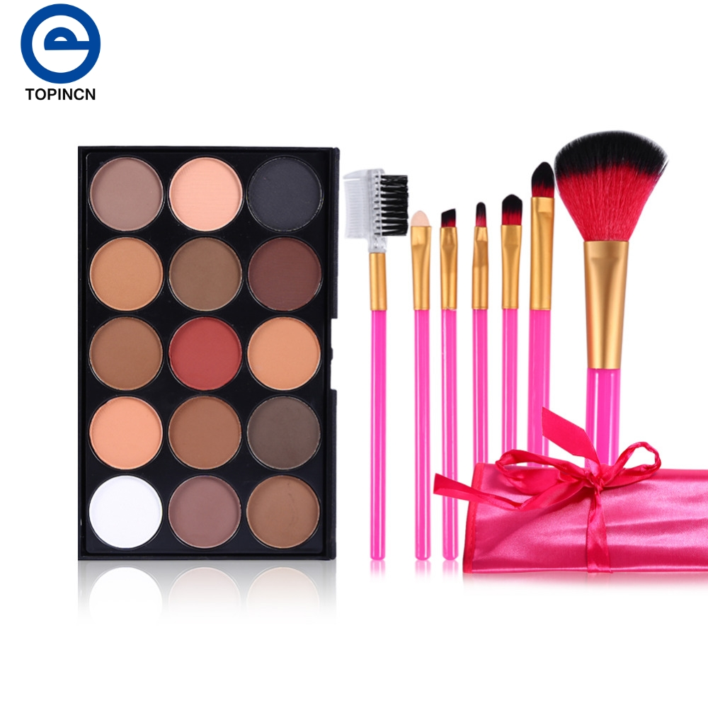 Professional Cosmetic Brushes Set Different Colors Concealer Palette Kit Makeup Brush 2 Types Hot sales professional concealer palette 15 color makeup facial concealer camouflage cream palette 10pcs cosmetic makeup brushes set