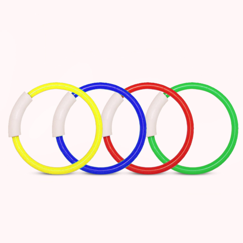 4PCS Underwater Swimming Pool Ring Relaxing Game Swim Toy Children Kids ...