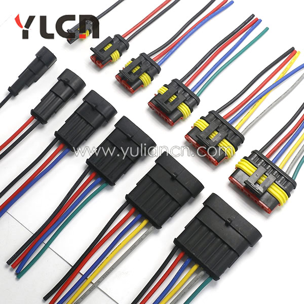 AMP 1.5 Series 1/2/3/4/5/6 Way Auto Cable Electrical Sealed Waterproof Wire Connector агхора 2 кундалини 4 издание роберт свобода isbn 978 5 903851 83 6
