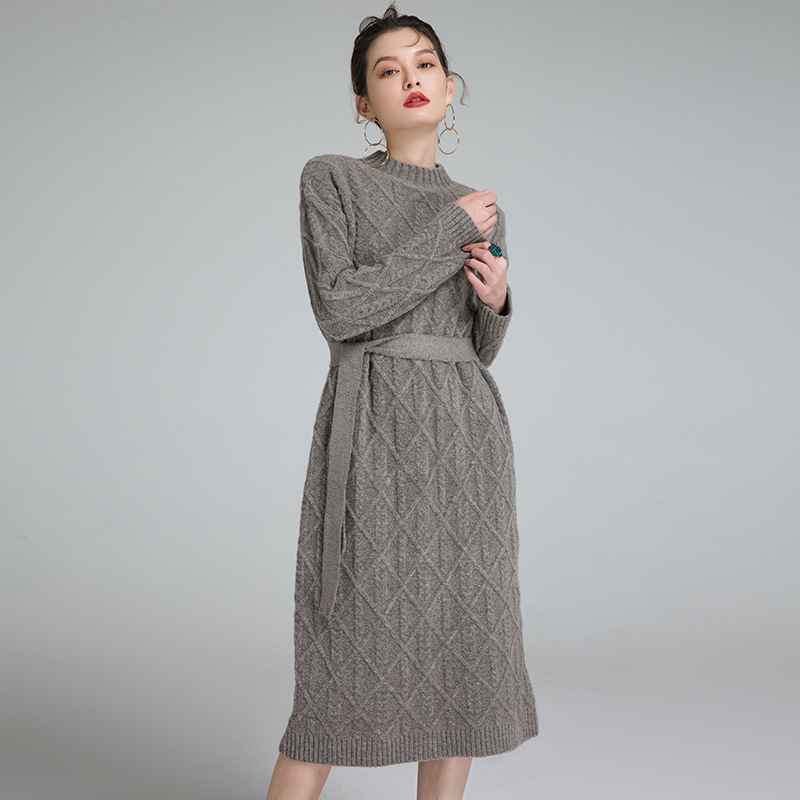 2017 autumn and winter new hedging solid color European and American yak cashmere knitted dress 9901 nick calamos p convertible arbitrage insights and techniques for successful hedging