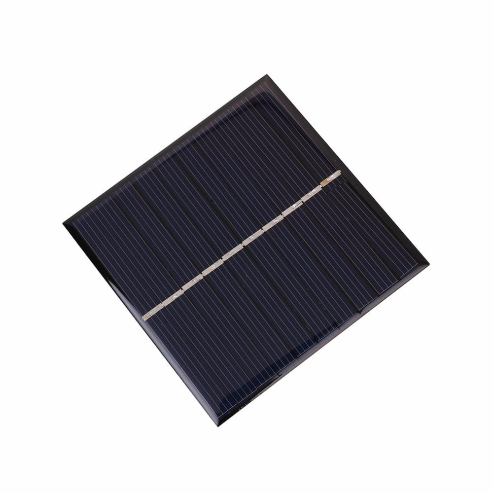 solar panel 5V 0.9W epoxy solar cell module 80mmx80mm polysilicon sun power for charging LED light lithium battery 10pcs/Lot