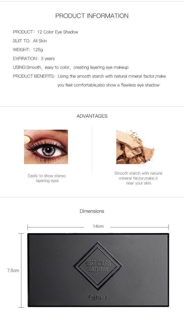 Pincel Maquiagem Cosméticos Com Escova de Longa-duração Para mulheres