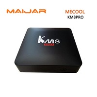 10PCS Smart Android Tv Box MECOOL KM8 PRO Amlogic S905X 2G 16G EMMC Flash WIFI Bluetooth4