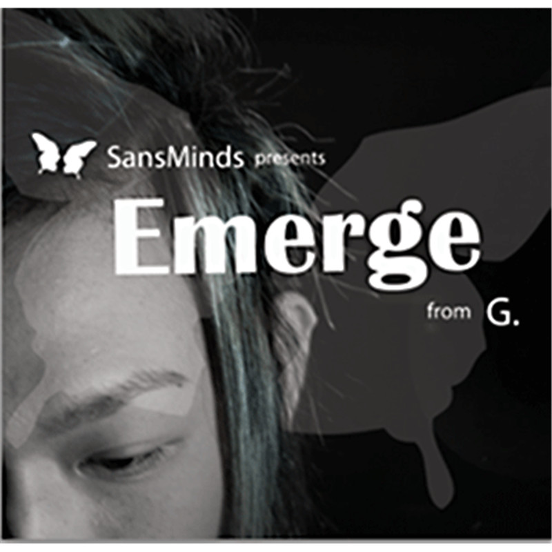 Emerge (Prop and DVD) by G and SM Productionz magic tricks close up stage props magia professional mentalism gimmick mystery