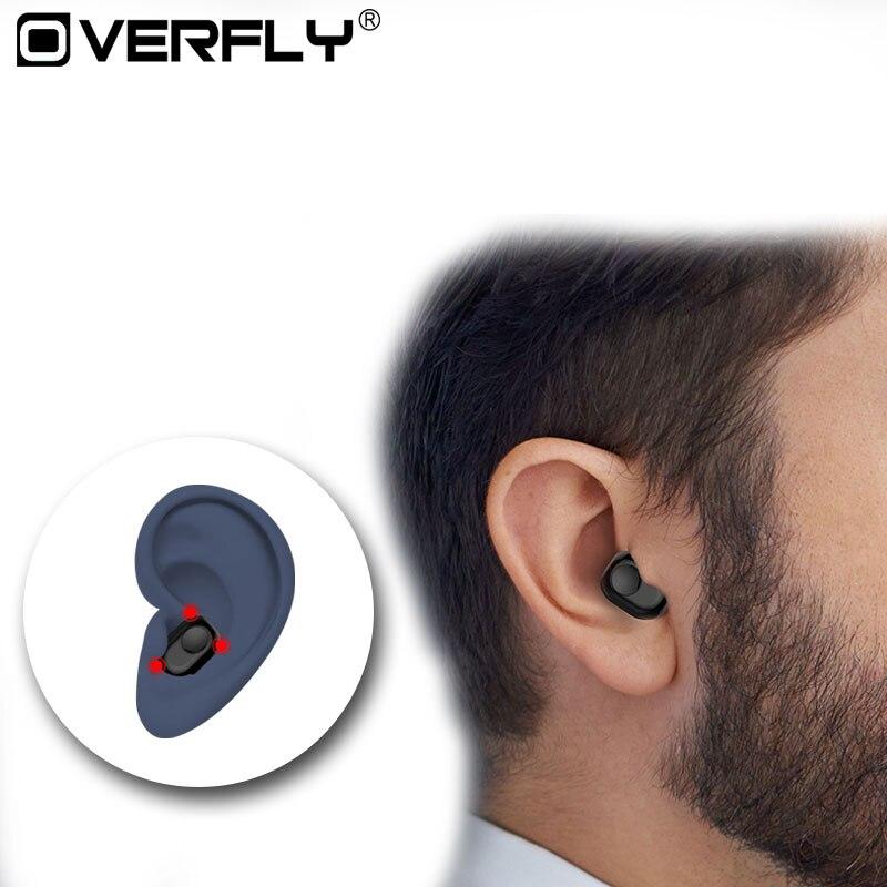 Mini Pea Style Bluetooth Headset Wireless Music Earphone Phos