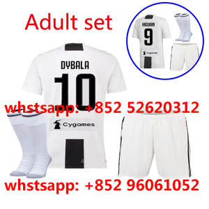 2018 2019 new Juventusing soccer Jerseys set camisetas shirt survetement  man 18 19 Football shirt kit 061ef047d