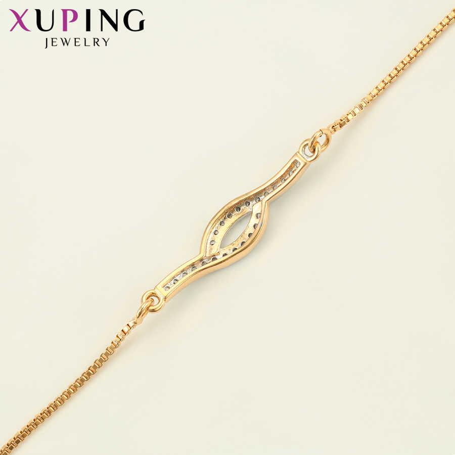 11.11 Xuping 合成立方ジルコン野生スタイル花嫁流行のブレスレットの宝石バレンタインの日ギフト S69 、 6-75993