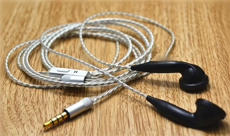 diy earphone heart of ocean silver plated wire diy se535 earphone