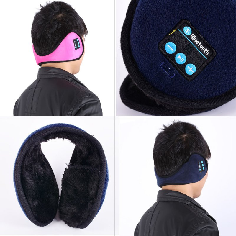 Wireless Bluetooth Headset Headphones Speaker Music Warm Earmuff for Smartphones A57 Hot Product