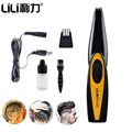 Professional Electric Hair Clipper Lettering Cutter Stainless Steel Blade Carving Hair Trimmer for Men Baby Hair Cutting Machine