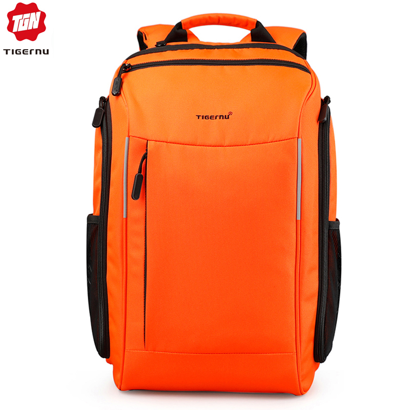 Tigernu Anti Theft Men Backpacks For Male 15.6 Inch Laptop Waterproof Backpack Bluetooth Fashion Travel Men School Bags Mochila