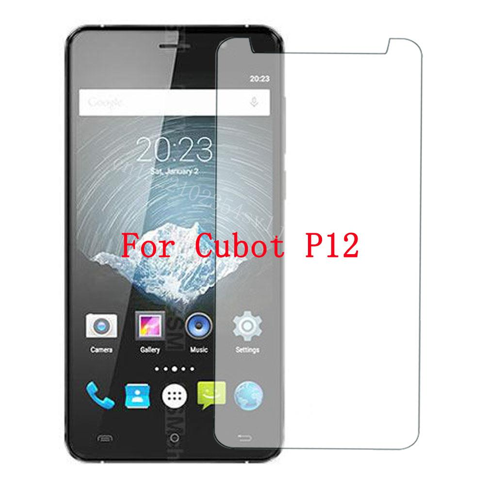 Smartphone Tempered Glass for Cubot P12 Explosion-proof Protective Film Screen Protector cover phone for Cubot P10
