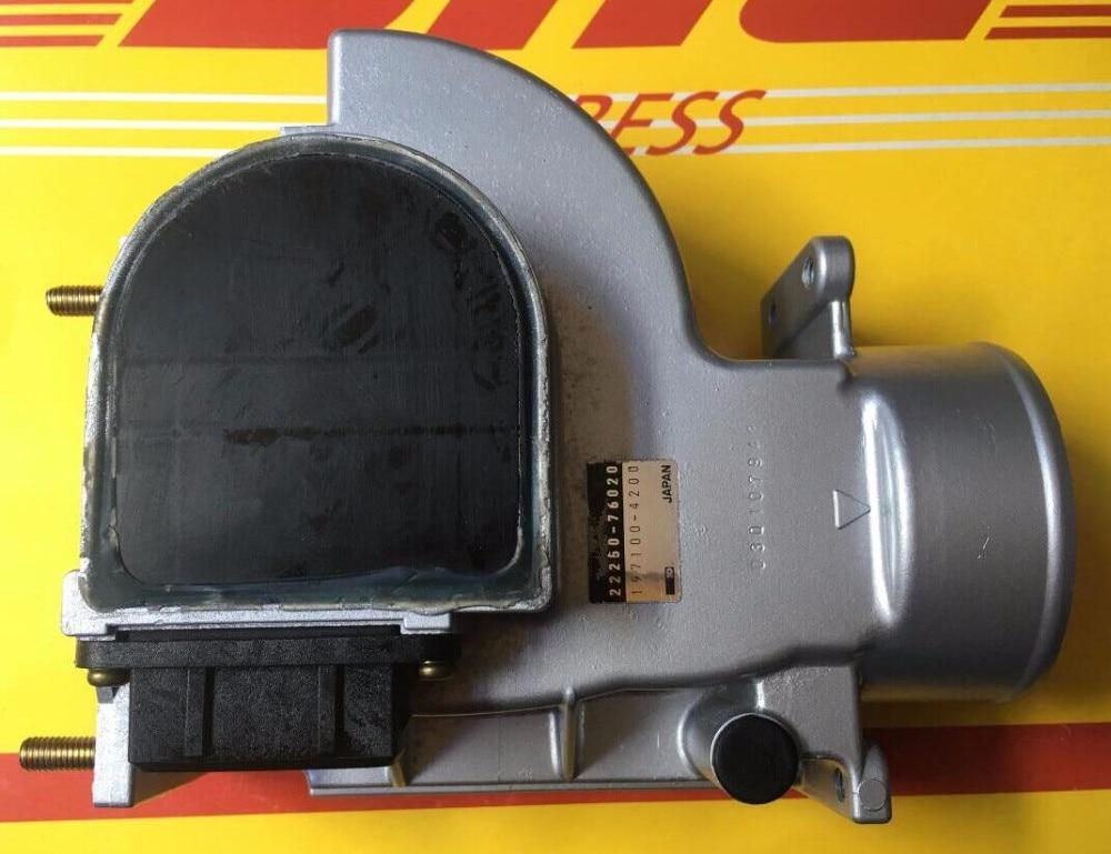 1pc Original Air Flow Meters Mass Air Flow Sensors 22250-76020 22250-76010 for Toyota 2TZ Prado 2.4L Previa 2225066030 high quality maf 22250 66030 mass air flow sensor for toyota 22250 66030 22250 66010