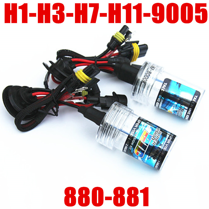 HID Replacement Bulb Headlight 35W//55W For H1 H3 H7 H11 9005 9006 880 881 Xenon