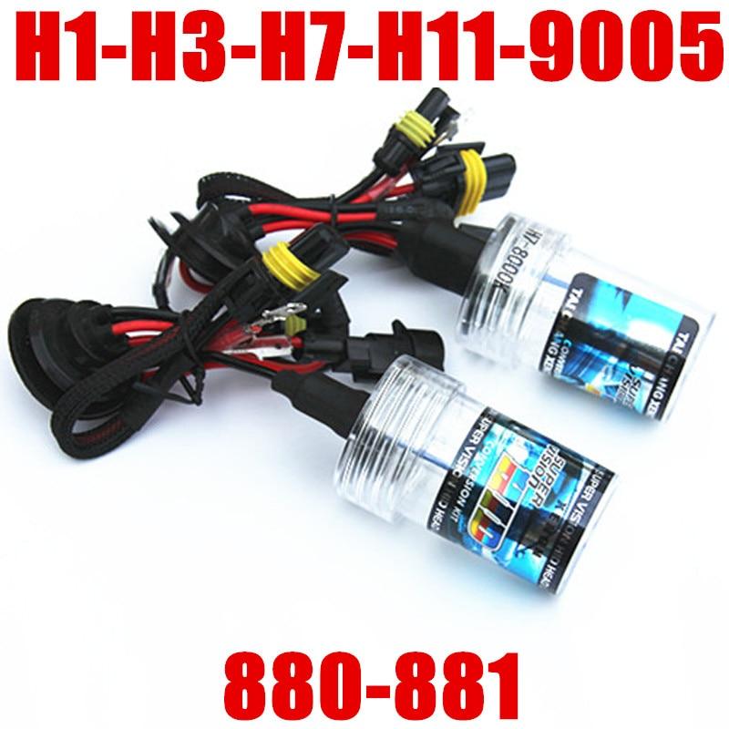 Xenon H1 H3 H7 H11 9005 9006 880 881 35W HID D2S Xenon Light Bulb HB3 HB4 Car Auto Headlight