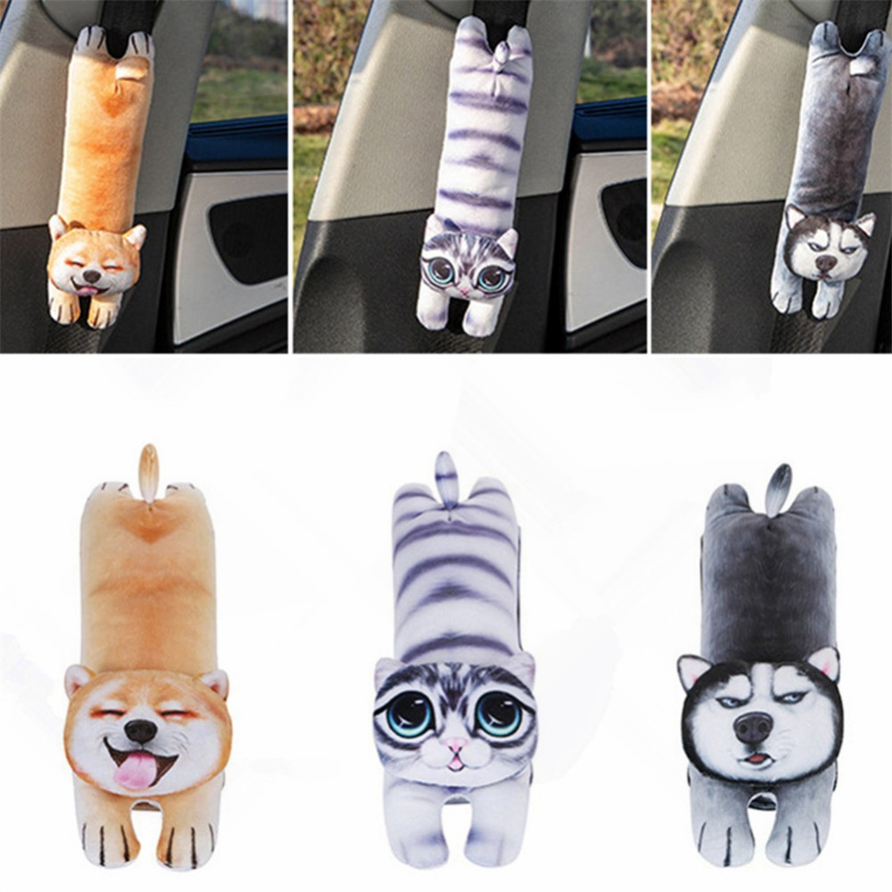 Cartoon Car Shoulder Protector Auto Seat Belt Cover Shoulder Pad Car Styling Safety Belt Pillow Protective Padding Strap Harness|Seat Belts & Padding| |  - title=