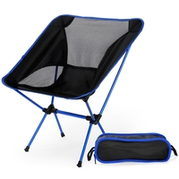 Portable Fishing Chair, Folding Camping Chair for Fishing Lightweight Bar Stool Beach Seat Chairs Picnic BBQ Beach Sunbath