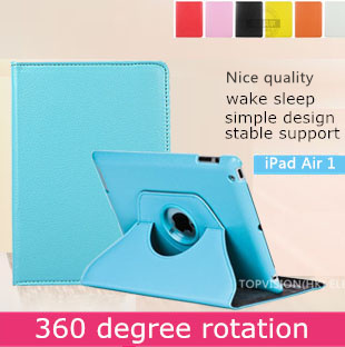 Nice quality stand leather smart case for ipad air 1 cover for apple ipad air case 360 rotating  iPad 5 bling protective skin surehin nice 360 full protective magnetic smart pu leather case for apple ipad air 1 cover slim thin tpu silicon back soft case