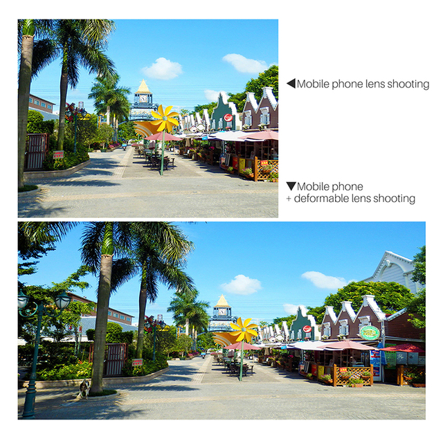 Universal Anamorphic Lens For Mobile Phone 1.33X Wide