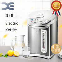 4L Water Heater Kettle Electric Kettle Automatic Power Off 4 Speed Insulation Intelligent Child Lock 304 Stainless Steel