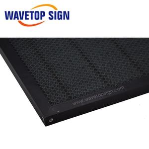 Image 4 - WaveTopSign 300*200mm 350*250mm Laser nid dabeille Table de travail plate forme Laser pièces pour CO2 Laser graveur découpeuse