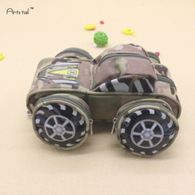 Speed Chariot School Pencil Case Password Lock Camouflage Bags With Wheels High-Capacity Multi-Purpose Creative Kids Stationery