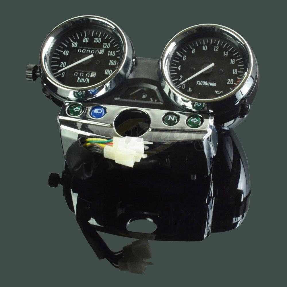 Motorcycle Tachometer Odometer Instrument Speedometer Gauge Cluster Meter For Kawasaki ZXR250 ZXR 250 scooter parts gauges cluster speedometer tacho odometer fits for kawasaki zrx400 zrx750 zrx1100 kmh free shipping